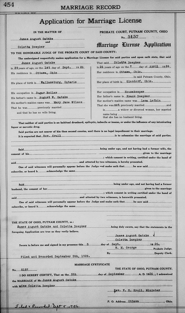 Marriage Certificate Akron Oh - Best Design Sertificate 2018