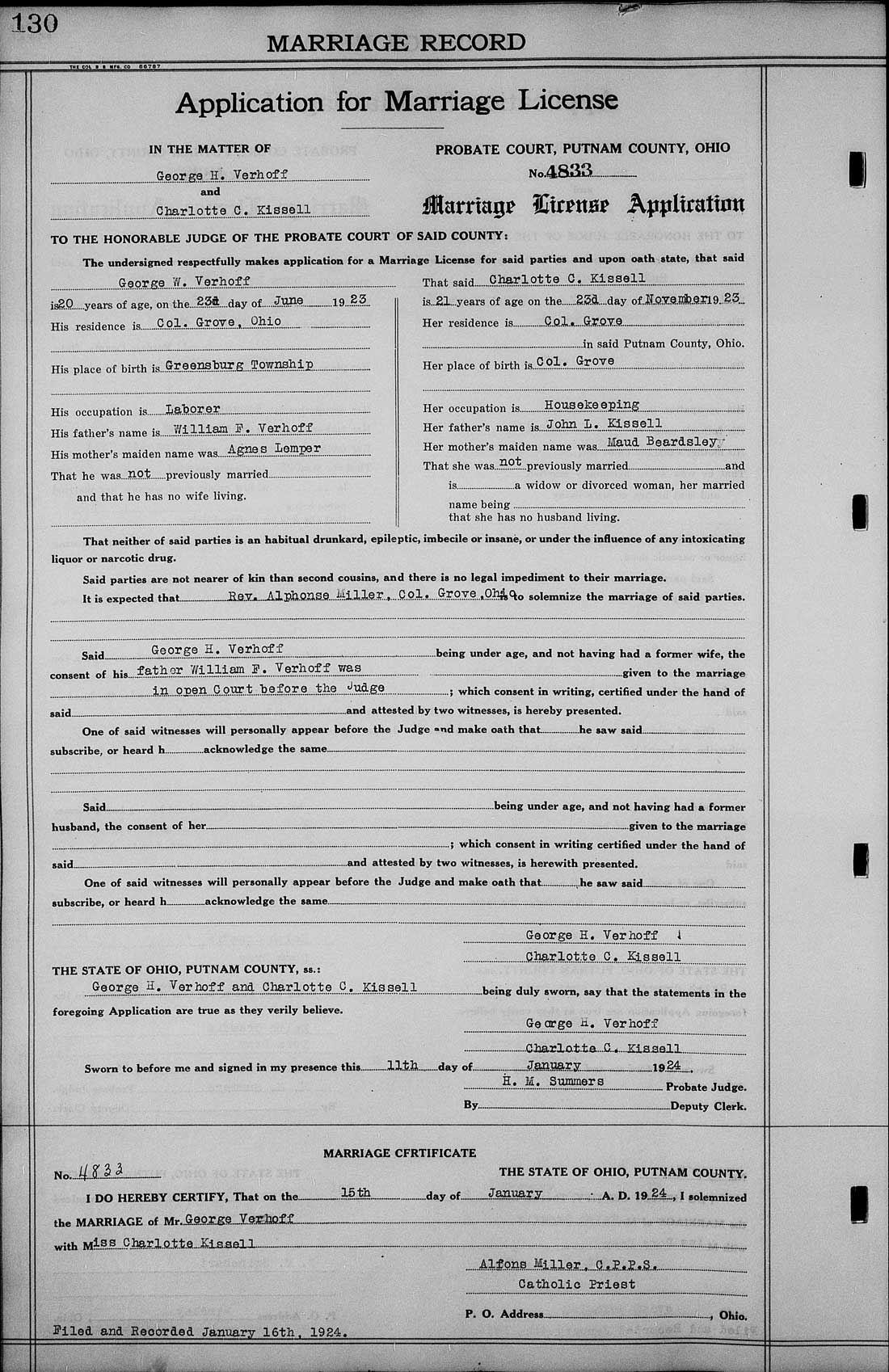 Genealogy Data Page 59 (Notes Pages)