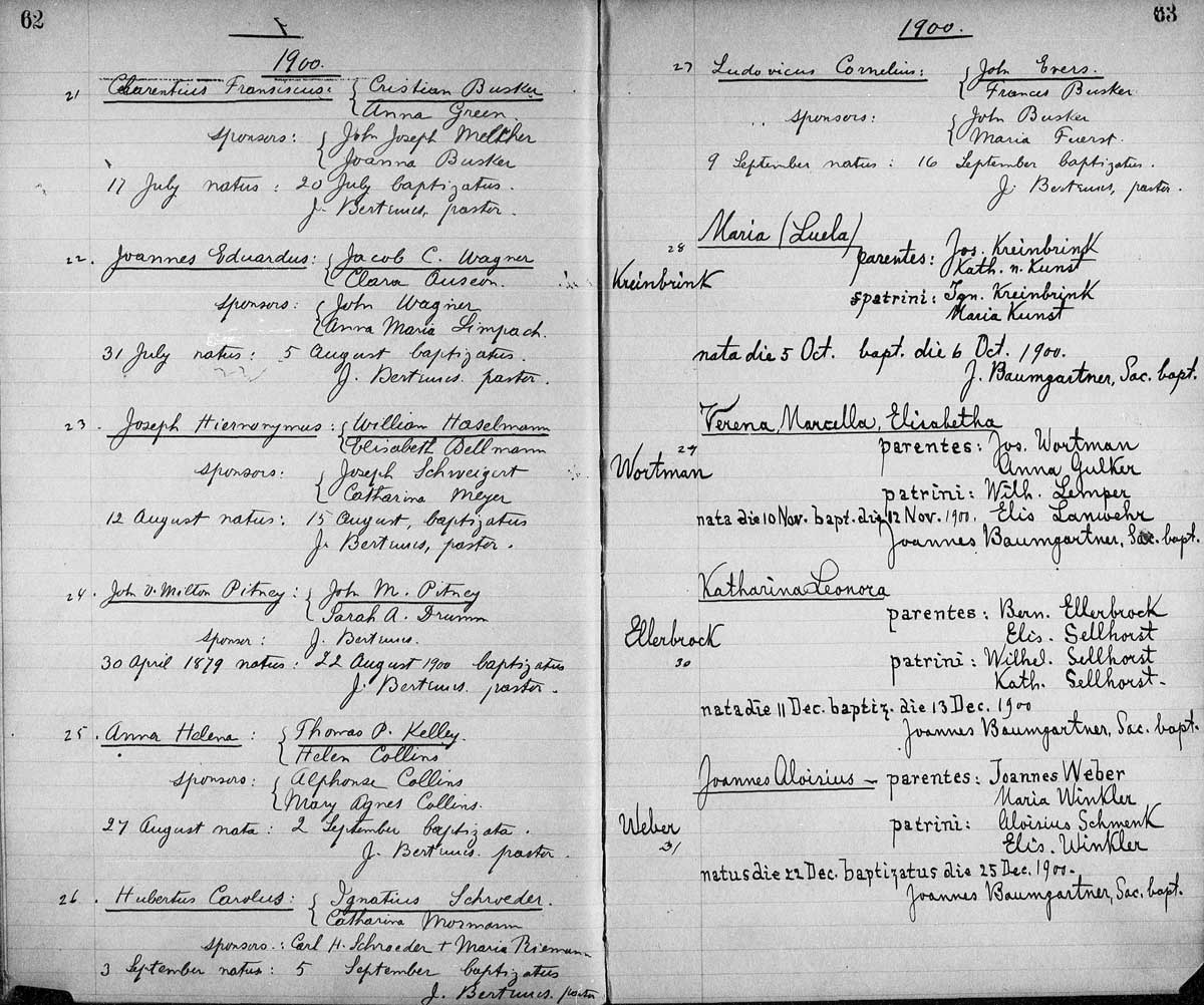 Genealogy Data Page 37 Notes Pages